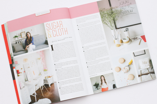 Sugar & Cloth interviewed by Paper & Stitch in Uppercase