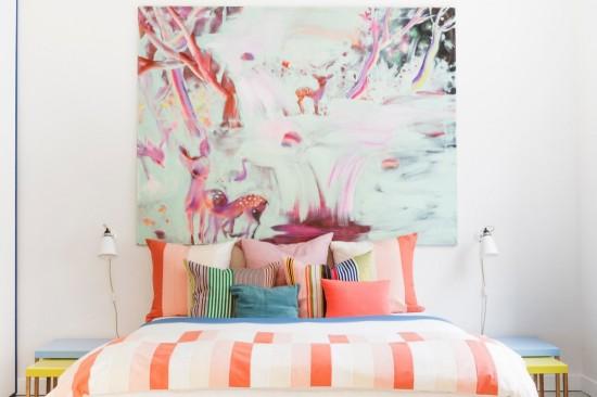 pattern in the bedroom
