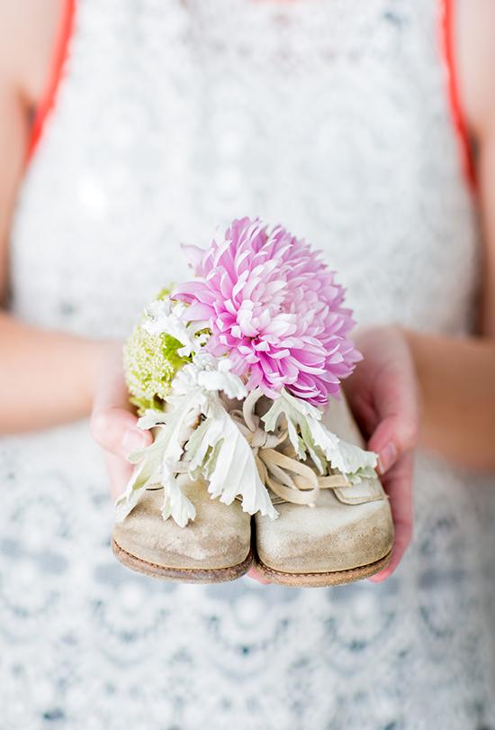Baby Shower Floral DIY Idea