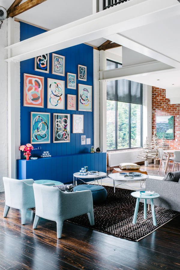 Interior Obsessions Some Seriously Bold Color Paper And