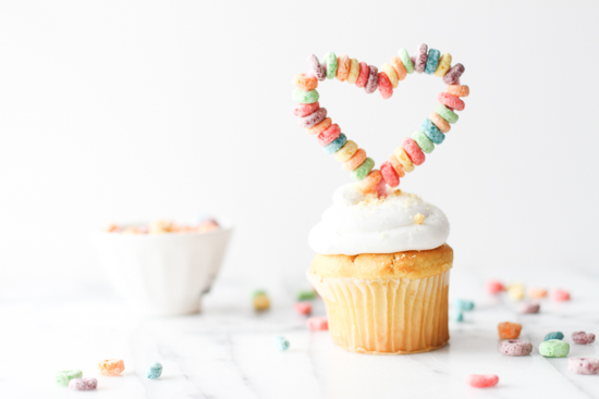 cereal cupcake toppers DIY