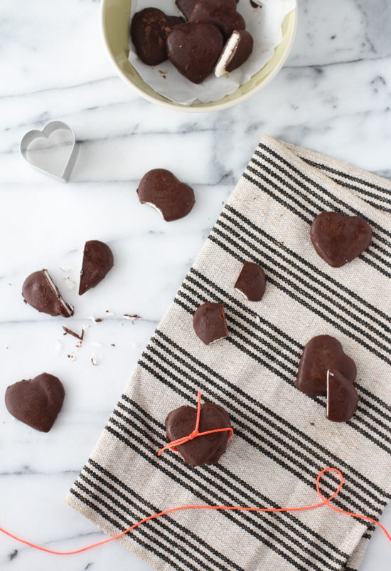 organic peppermint patties for Valentine's Day
