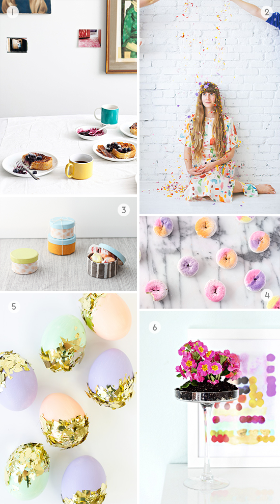 Spring DIYs to Try // weekend craft projects