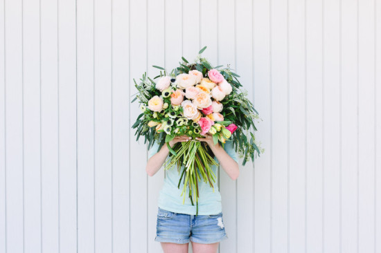 Flower DIY // Giant Bouquet