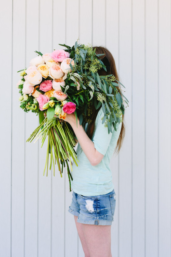 Behind the Scenes: How to Make a Giant Bouquet