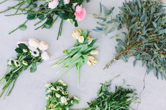 flowers needed for a giant diy bouquet