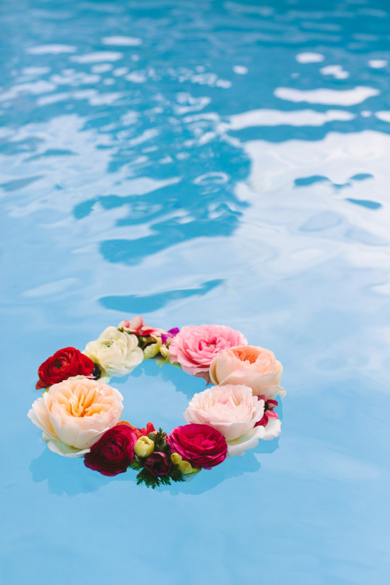 DIY Flower Project // floating wreath