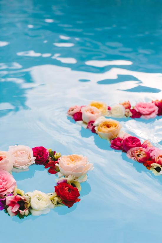 Floating Flower Wreaths