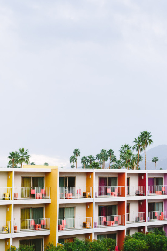 The Saguaro // a super colorful hotel in Palm Springs