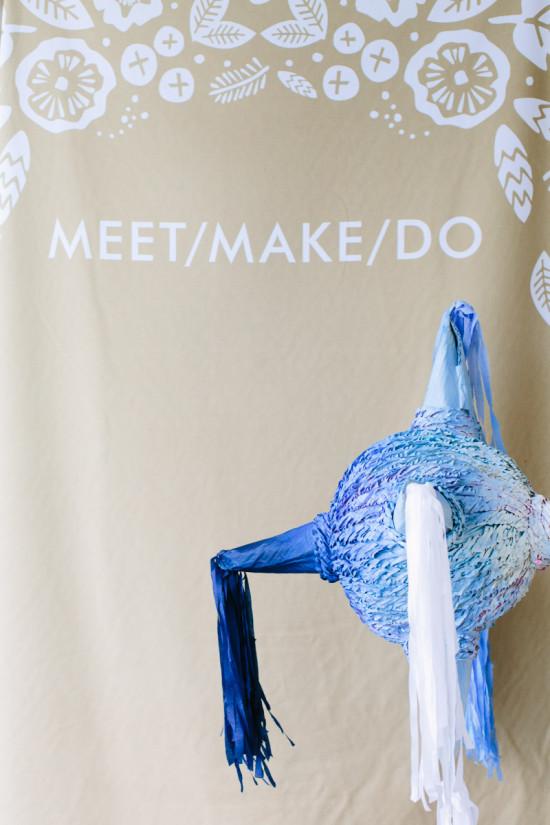 Ombre Piñata for Meet/Make/Do