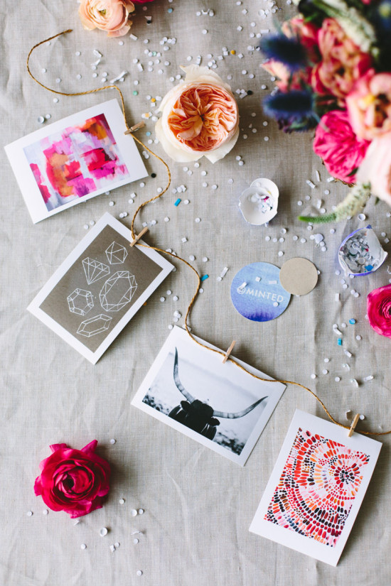 Minted Prints // Styled by Brittni Mehlhoff