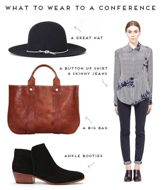 What to Wear to a Conference // Casual Outfit