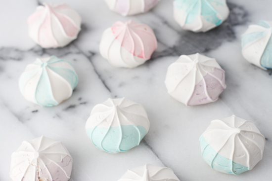 DIY // Watercolor Meringues