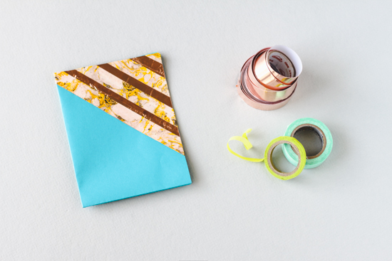 DIY // washi tape greeting card