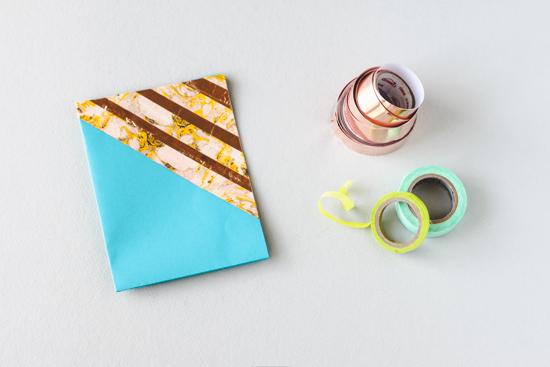 DIY // washi tape greeting card