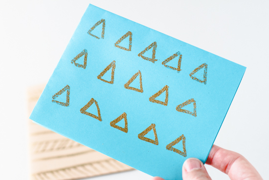 DIY // Embossed notecards and greeting cards