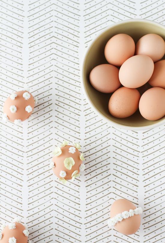 Make This: DIY Flower Easter Eggs