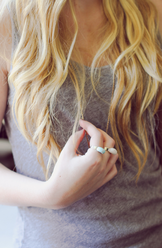 Clay Kidney Shaped Ring DIY