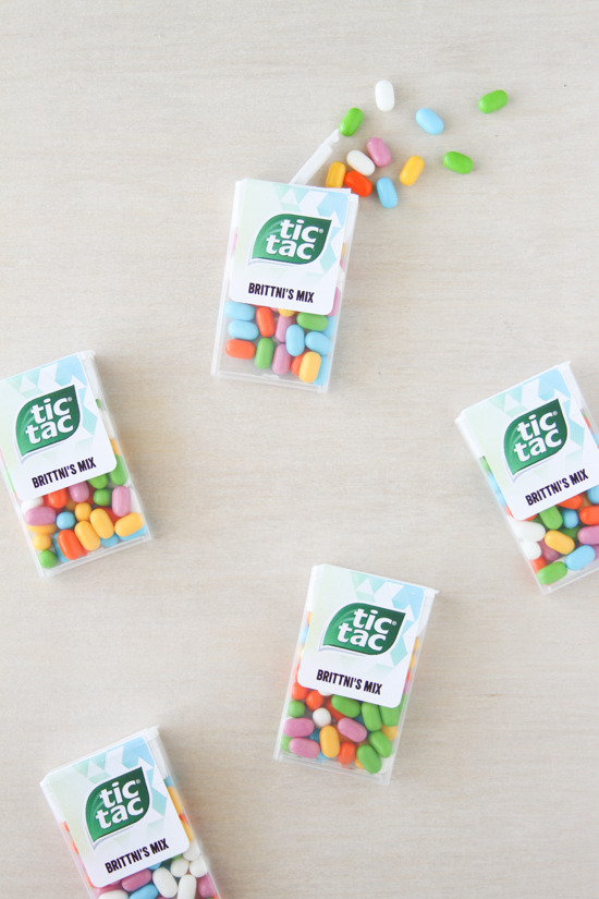 Tic Tacs for Cinco de Mayo