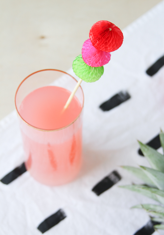 DIY Cinco de Mayo Drink Stirrers