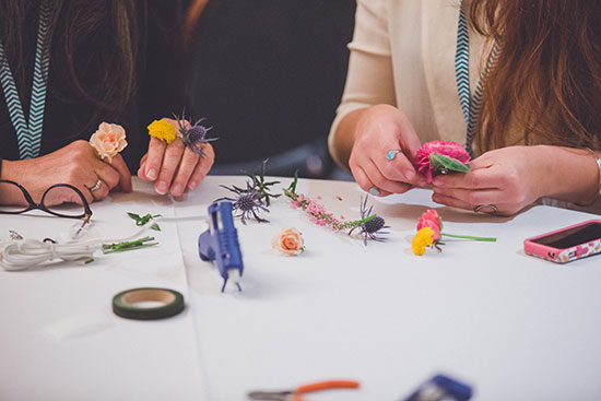 Flower Workshop at Craftcation