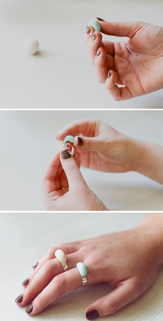 How to Make Minimal Clay Rings