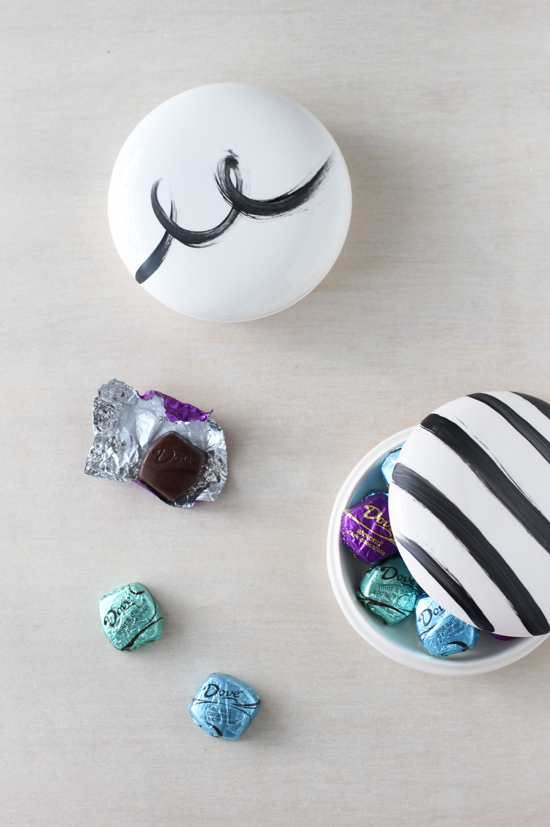 Hand Painted DIY Keepsake Containers