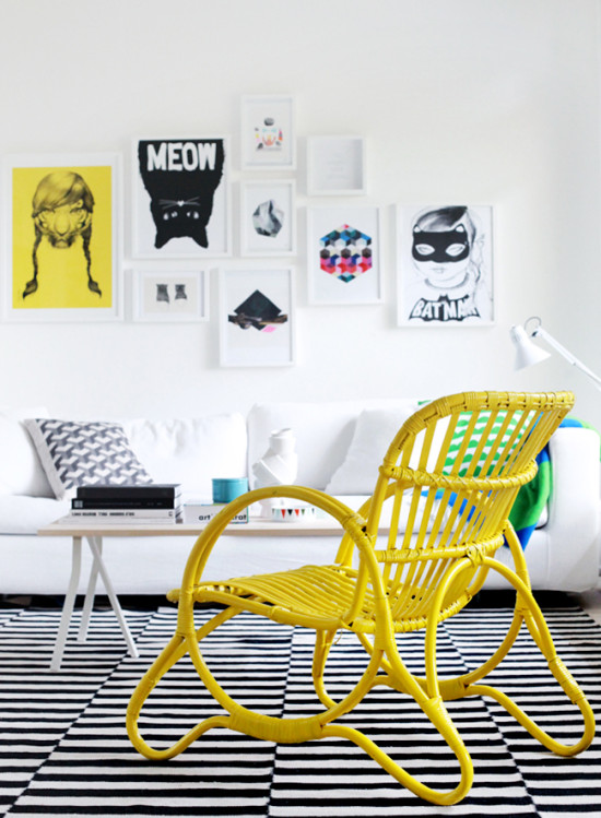 Yellow Furniture from Weekday Carnival