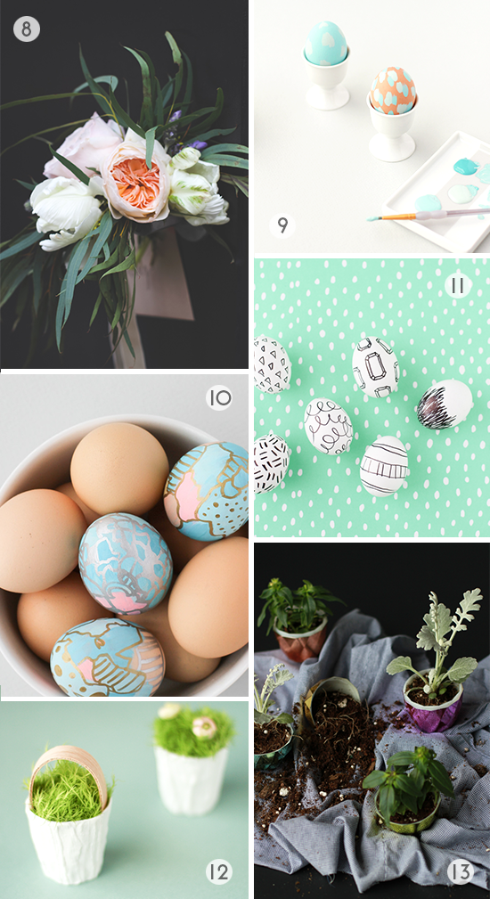 Easter DIY Roundup // 8-13