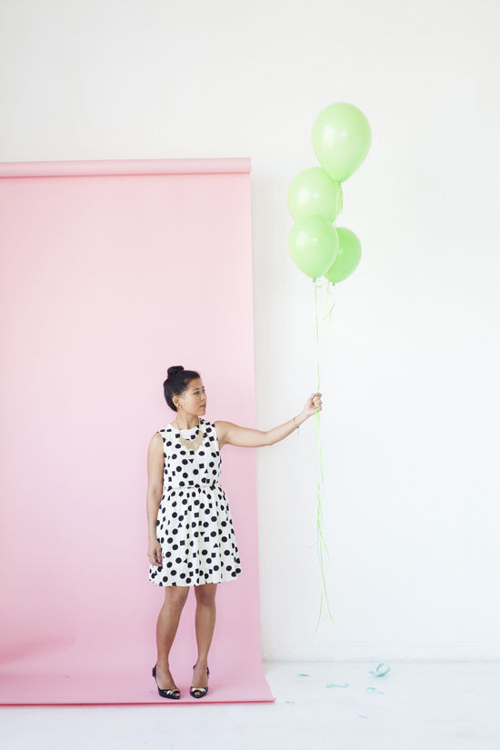Pink Wall at Blogshop