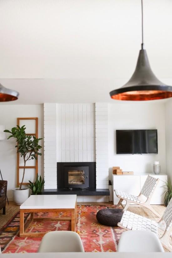A California dream home // love the living room especially