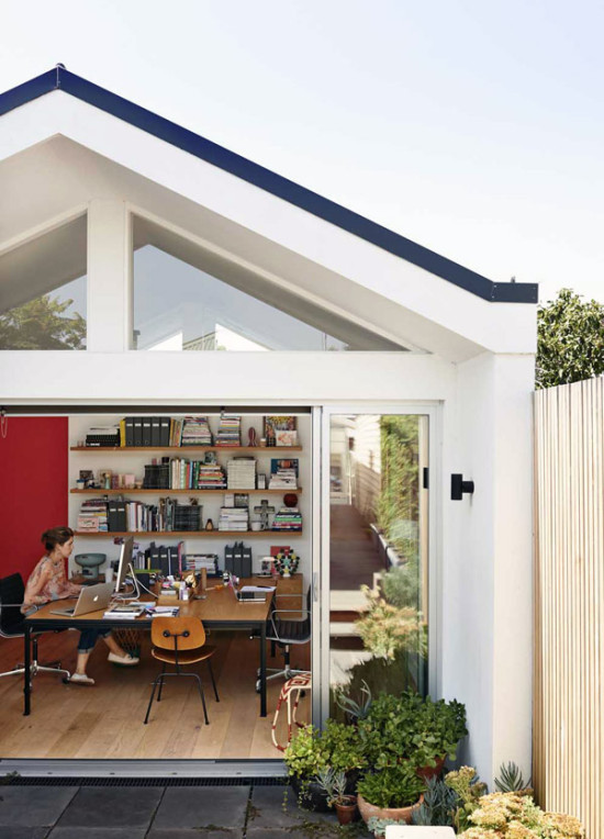 Melbourne Home Office Exterior