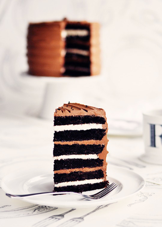 Chocolate Cake with Lots of Layers