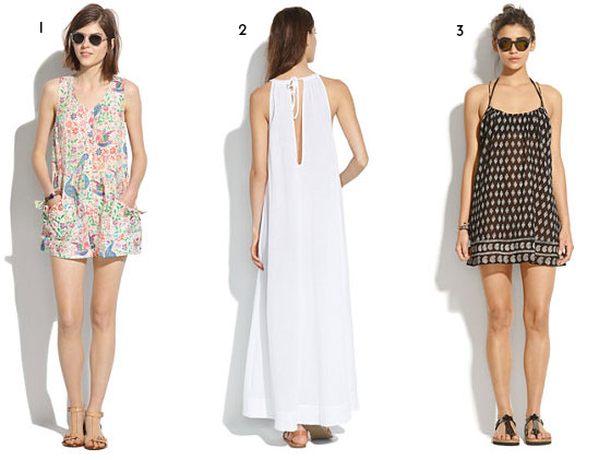 Roundup // Cool Beach Coverups