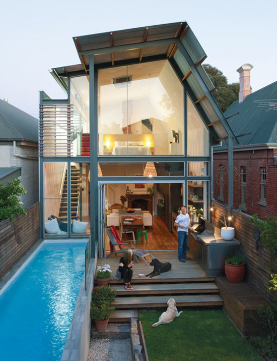 Awesome house + yard with lap pool