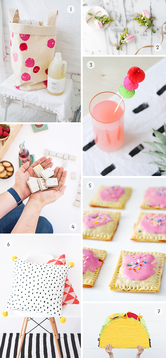 DIY to Try This Weekend // Piñata Taco, Homemade Pop Tarts, and More