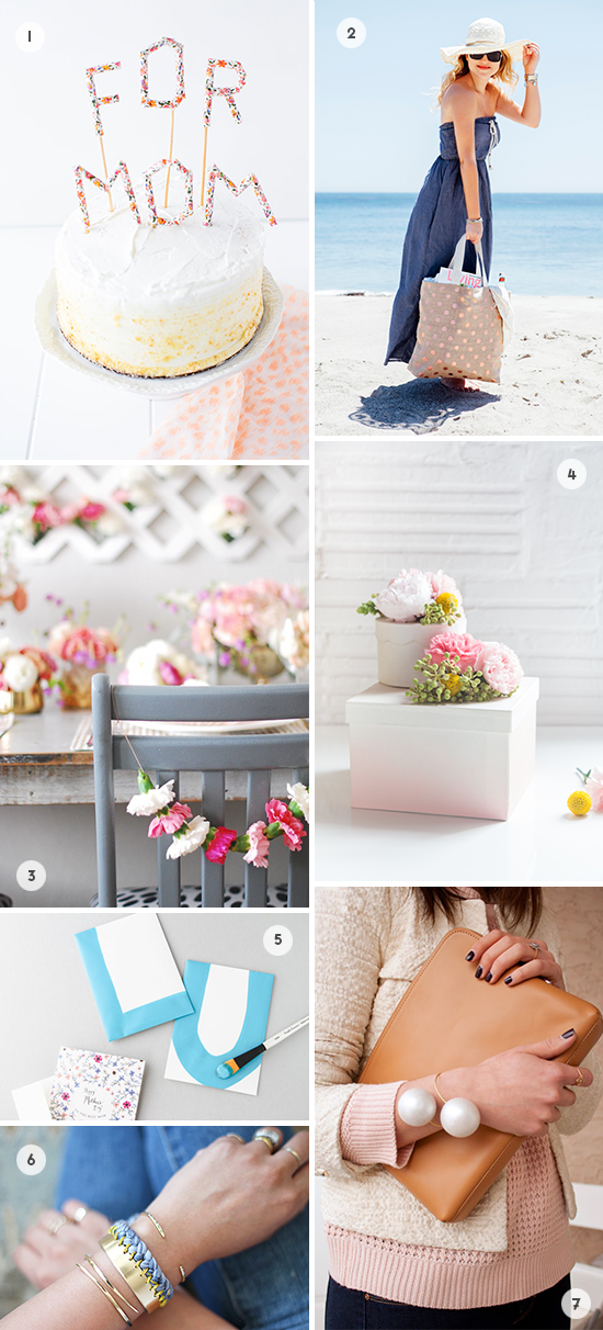 DIYs to Try // Mother's Day DIY Roundup