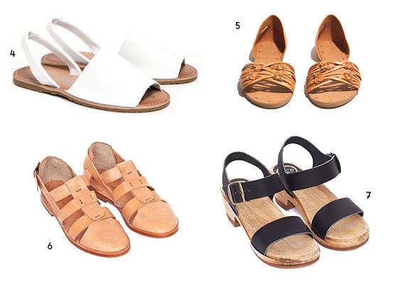 Roundup // Beach Sandals