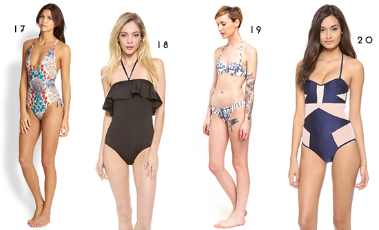 Cool Swimsuit Roundup
