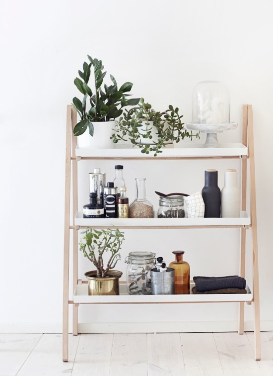 Cool plant shelf from Weekday Carnival