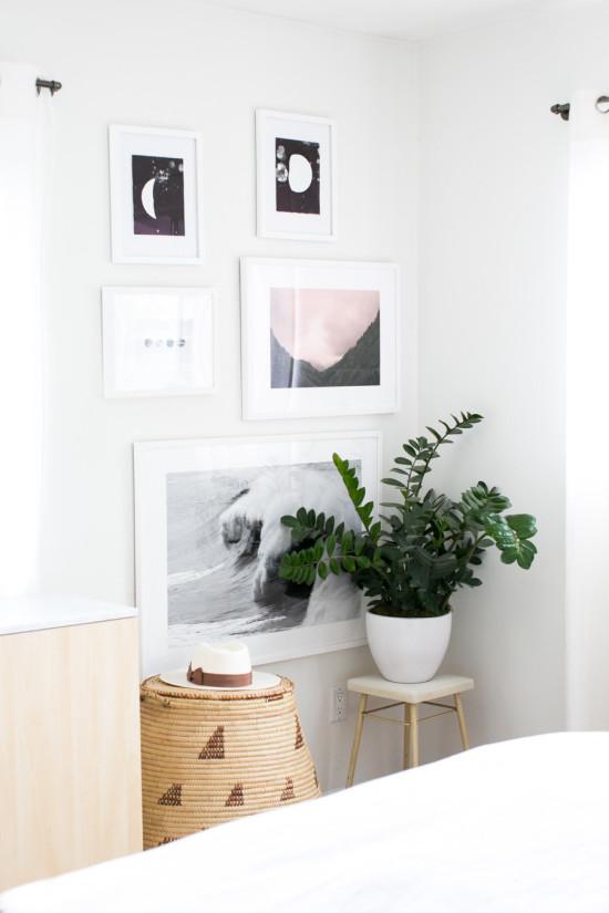 Designlovefest Bedroom Art Wall