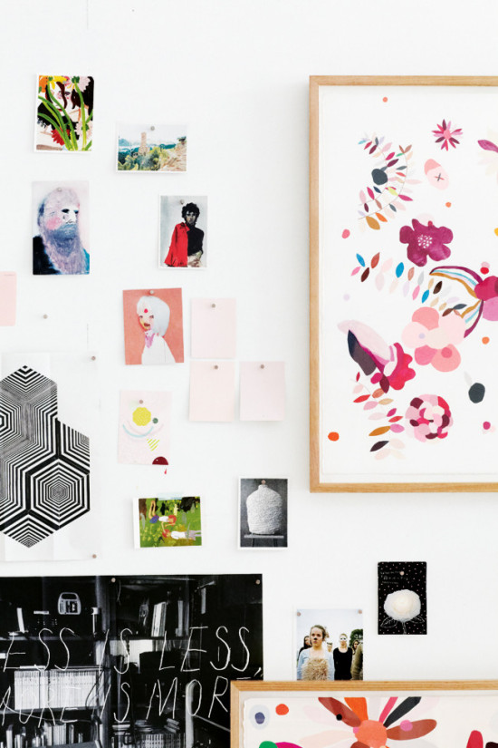 A Quirky, Cool Art Cluster