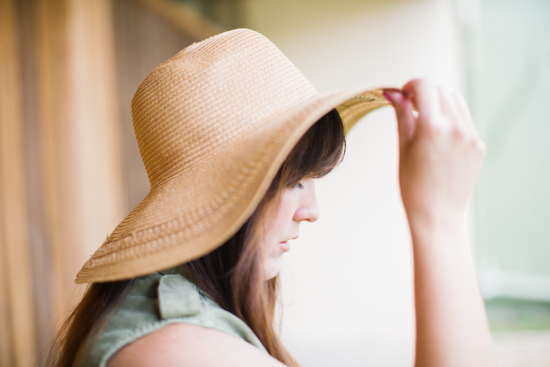 A Big Floppy Hat to Hide from the Sun