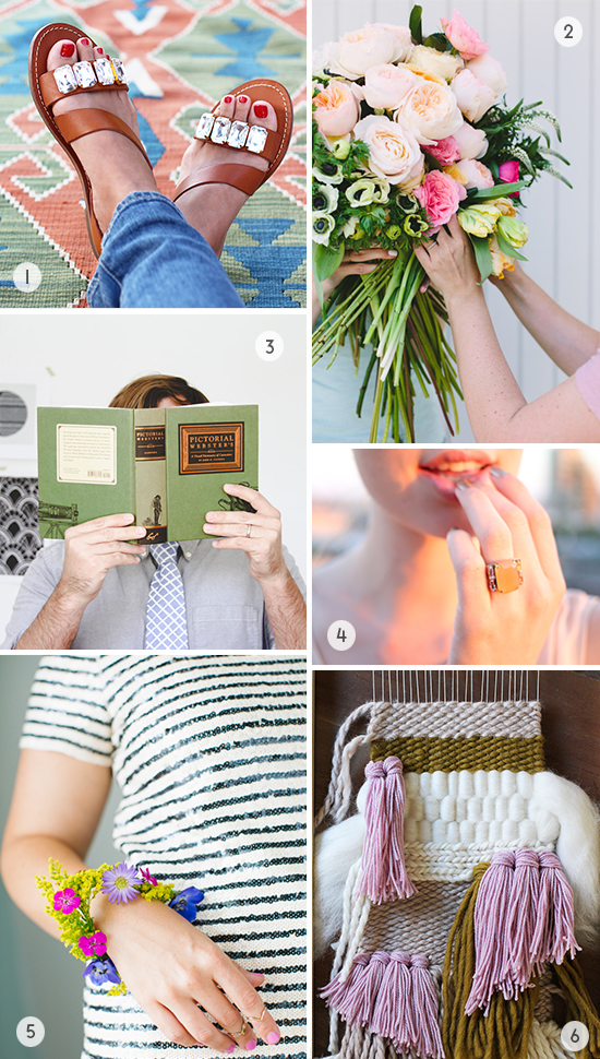Weekend DIY Projects // Weaving, Florals, and More