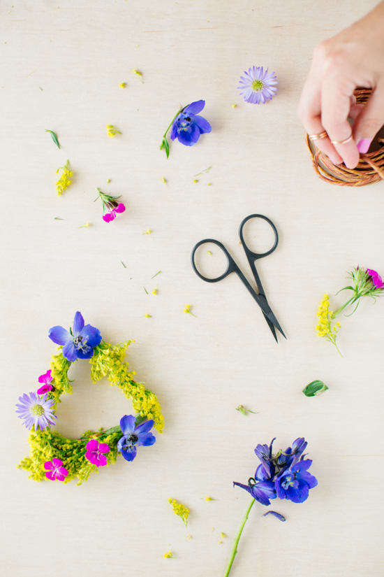 Geometric Flower Jewelry // Styling by Brittni Mehlhoff