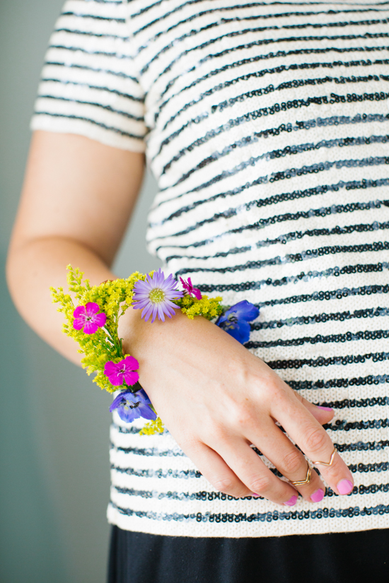 DIY // Geometric Flower Bracelet