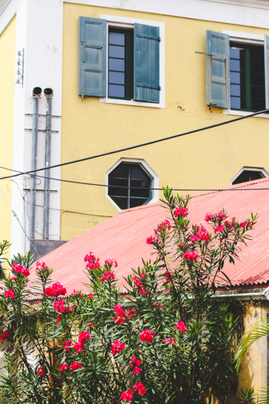 Colorful Buildings in Charlotte Amalie, St Thomas