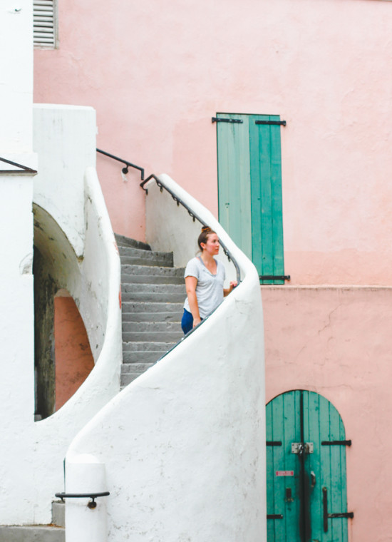 Pink Walls in Charlotte Amalie