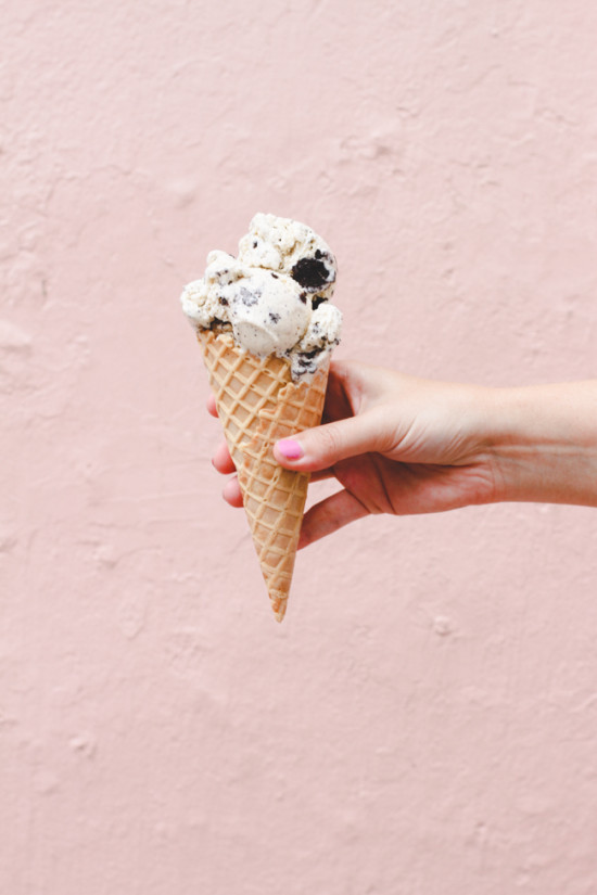 Cookies and Cream Cone