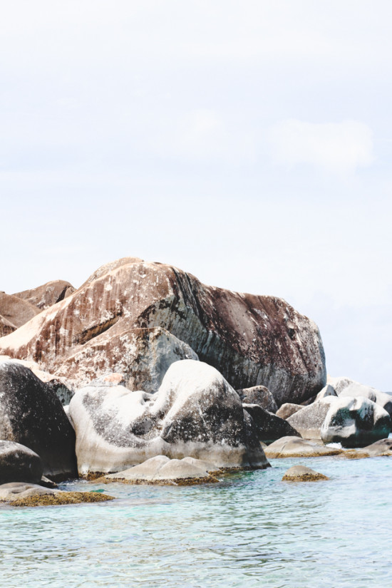 Swimming at Virgin Gorda